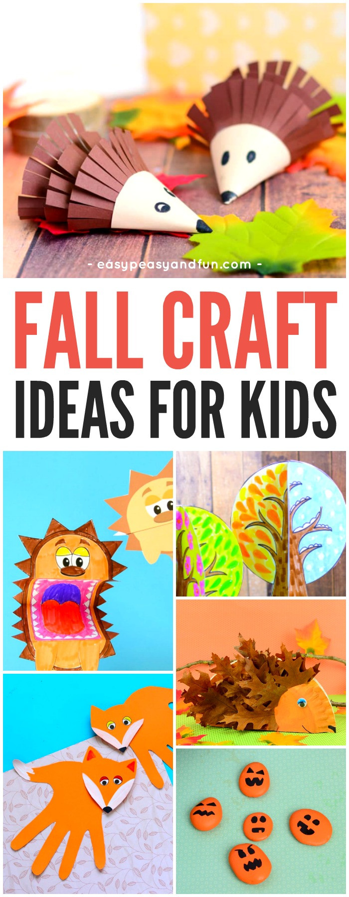 Toddler Arts And Craft Ideas  Fall Crafts For Kids Art and Craft Ideas Easy Peasy