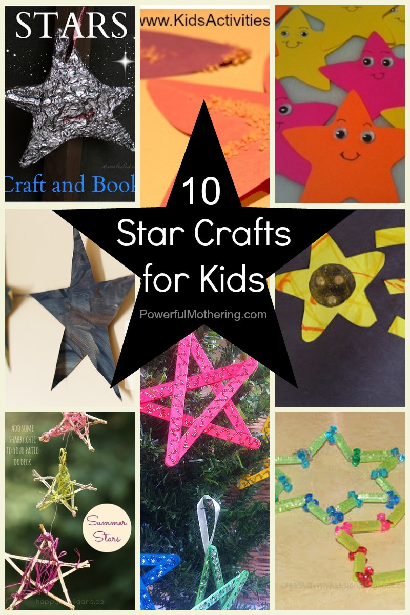 Toddler Arts And Craft Ideas  10 Star Crafts for Kids