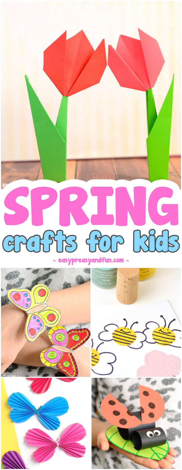 Toddler Arts And Craft Ideas  Spring Crafts for Kids Art and Craft Project Ideas for
