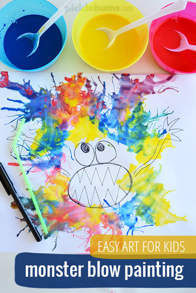 Toddler Arts And Craft Ideas  20 easy art projects for kids that turn out AMAZING It