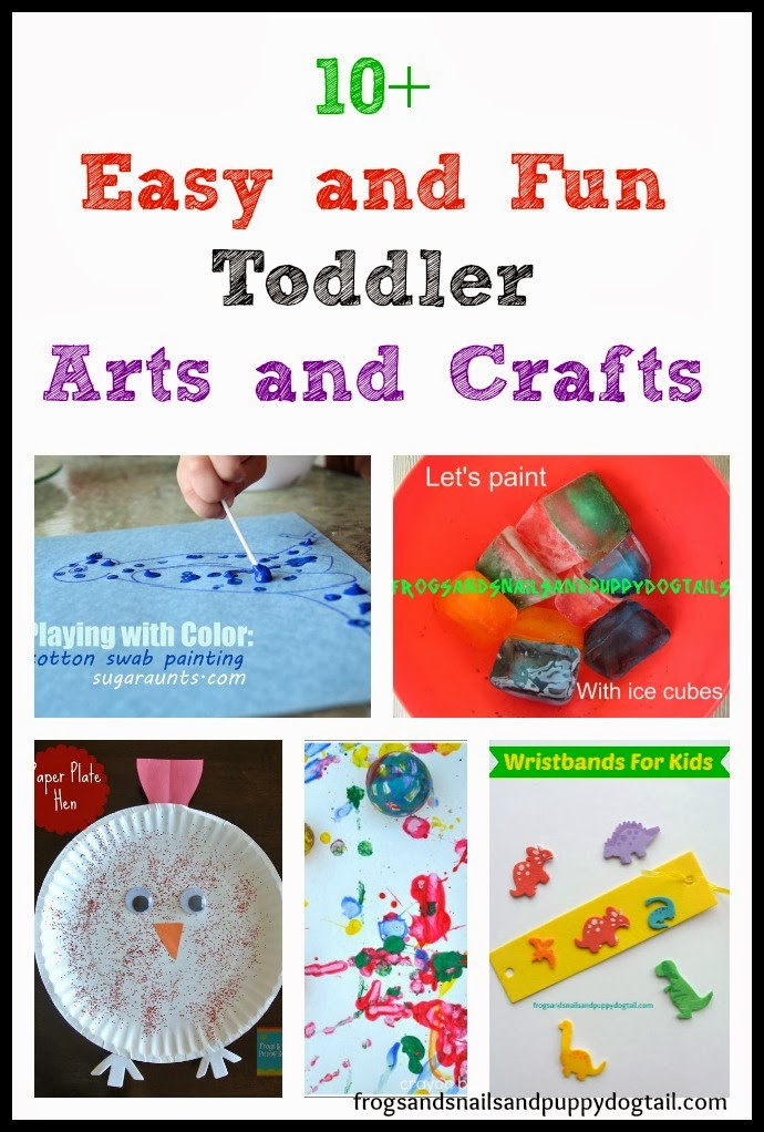 Toddler Arts And Craft Ideas  10 Easy and Fun Toddler Arts and Crafts FSPDT