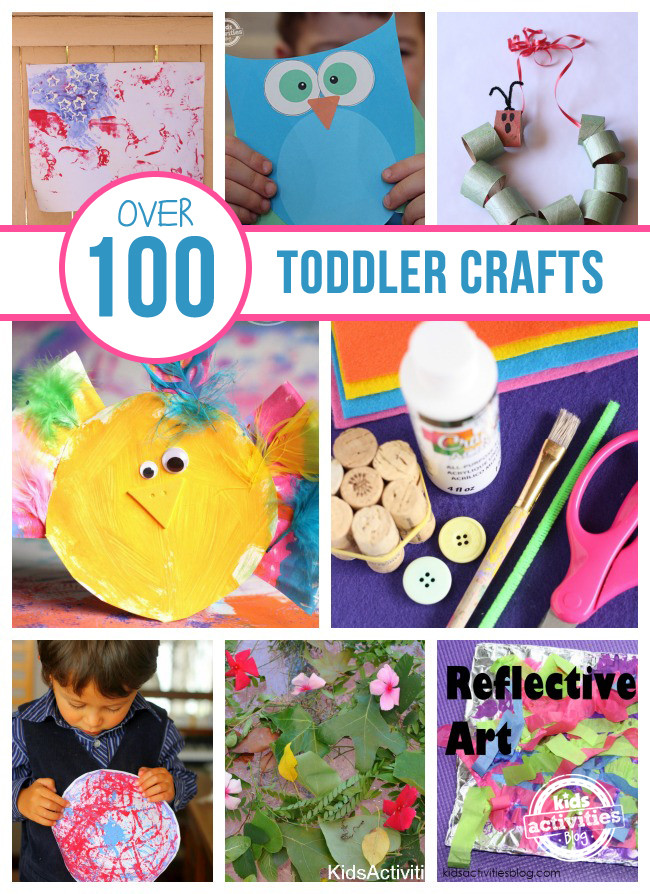 Toddler Arts And Craft Ideas  Over 100 Toddler Crafts