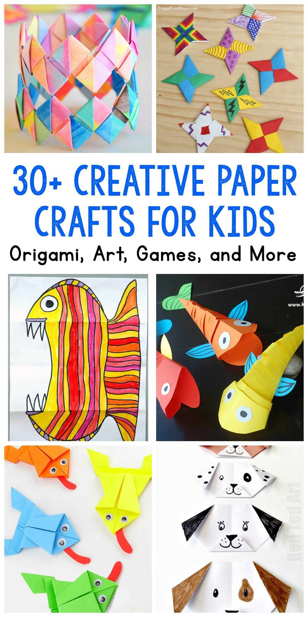 Toddler Arts And Craft Ideas  Paper Crafts for Kids 30 Fun Projects You ll Want to Try