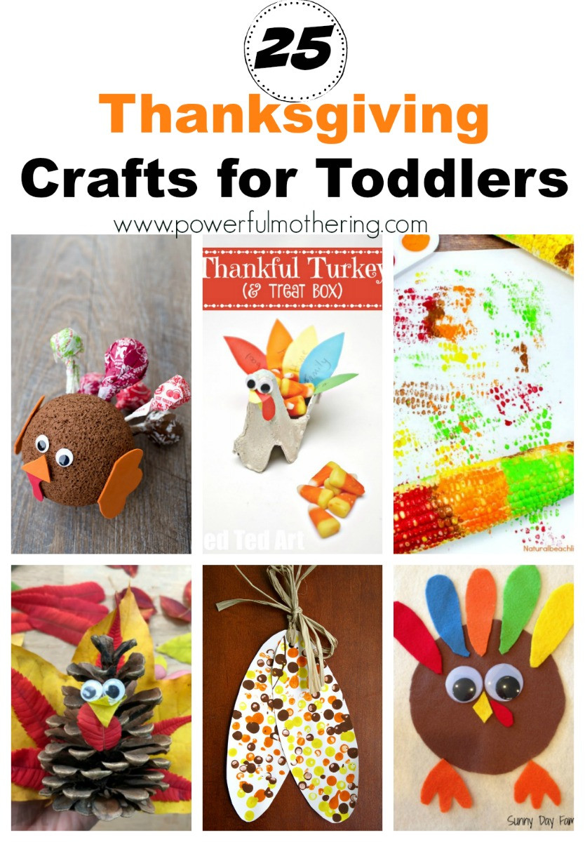 Toddler Craft Project  25 Thanksgiving Craft Ideas for Toddlers