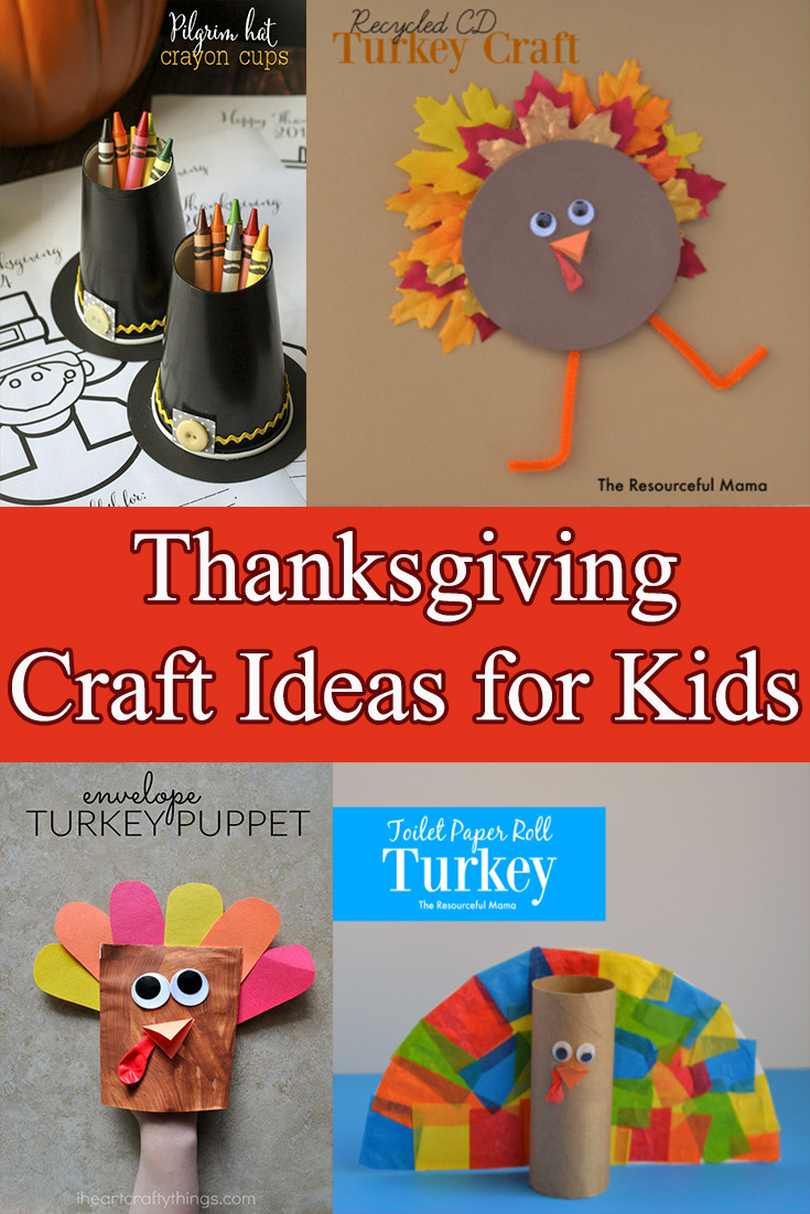 Toddler Craft Project  Thanksgiving Crafts for kids