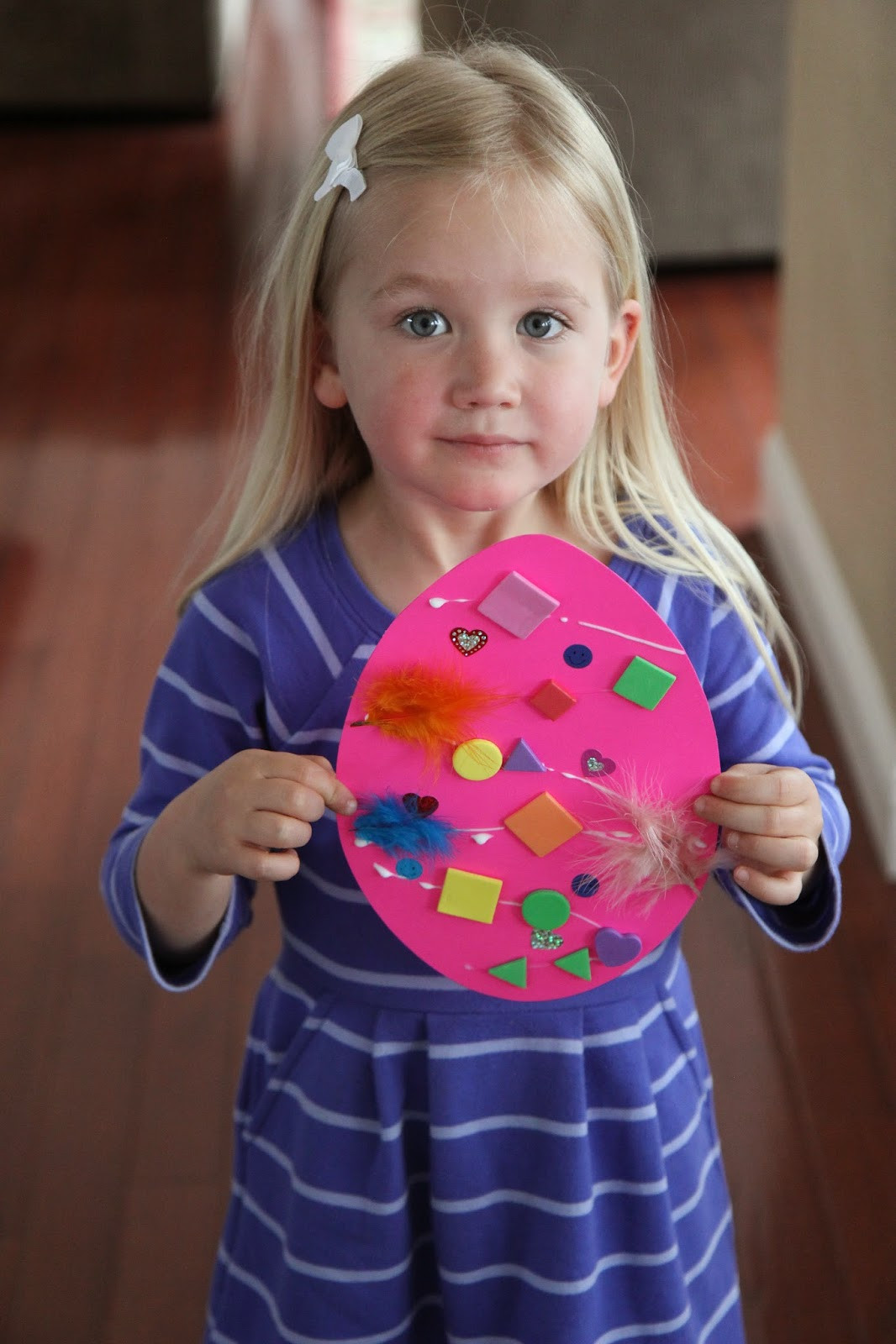 Toddler Craft Project  Toddler Approved Easter Egg Collage Craft for Toddlers