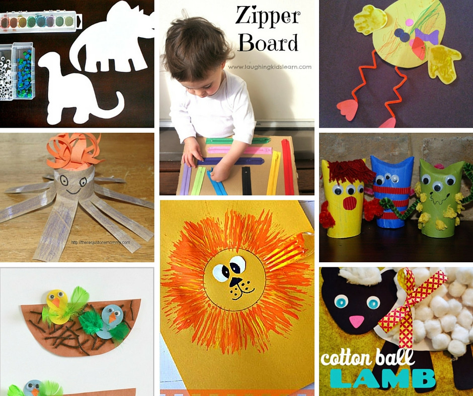 Toddler Craft Project  12 Crafts to Make With Toddlers