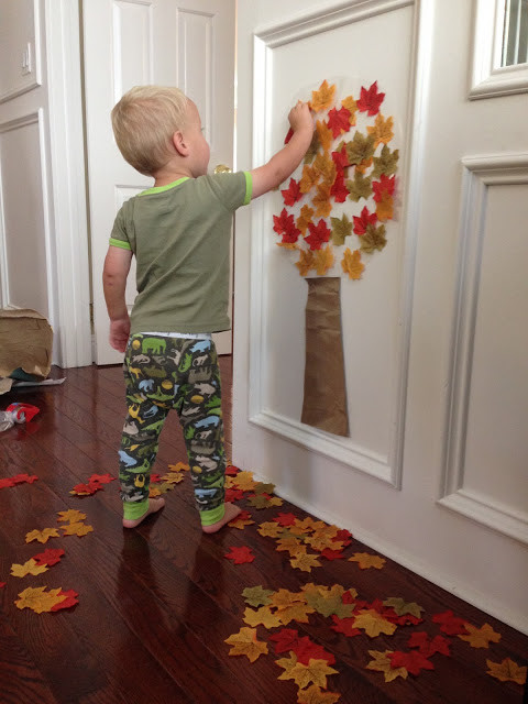 Toddler Craft Project  18 DIY Fall Crafts Suitable For Kids
