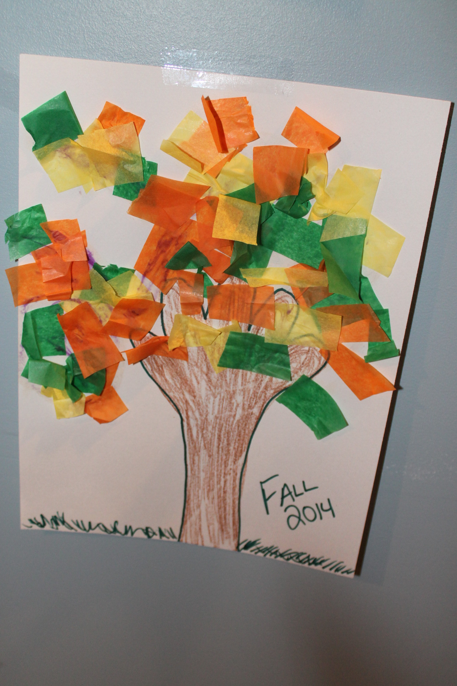 Toddler Craft Project  Easy Fall Kids Crafts