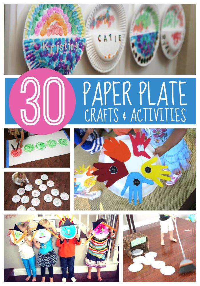 Toddler Craft Project  Toddler Approved 30 Paper Plate Crafts & Activities for