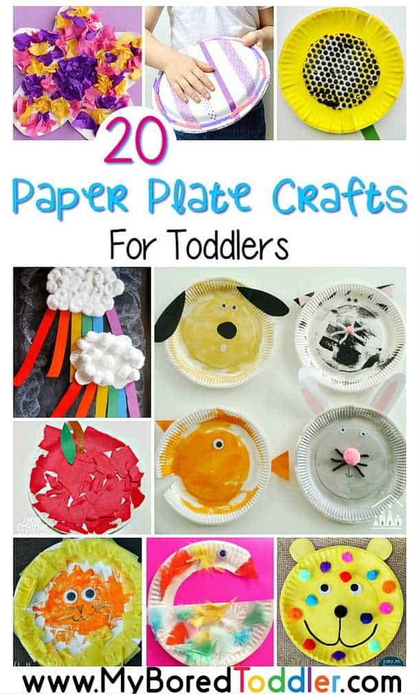 Toddler Craft Project  Paper Plate Crafts for Toddlers My Bored Toddler