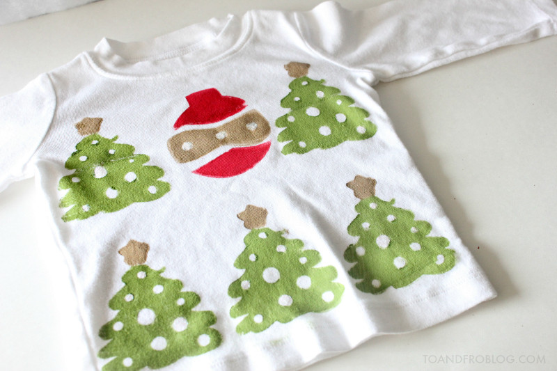 Toddler Ugly Christmas Sweater DIY  An Ugly Christmas Sweater for Baby DIY