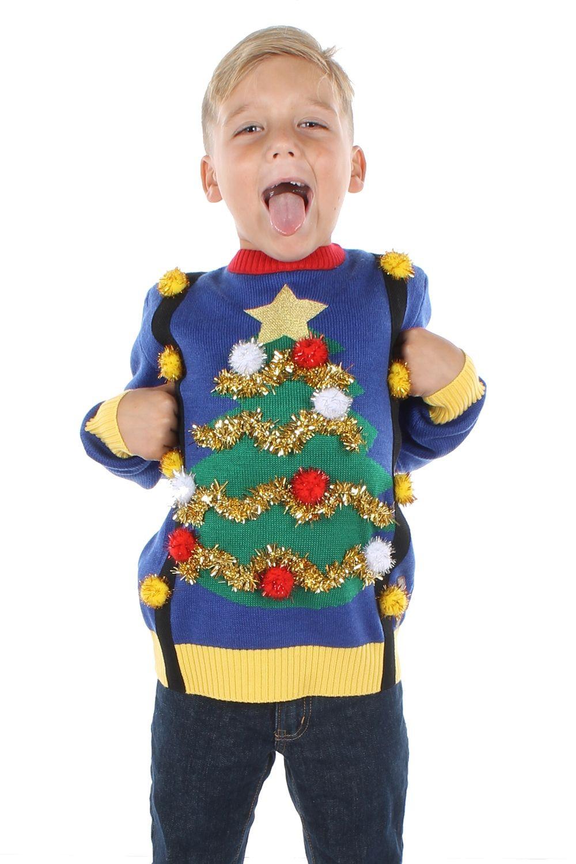Toddler Ugly Christmas Sweater DIY  Pin on Christmas