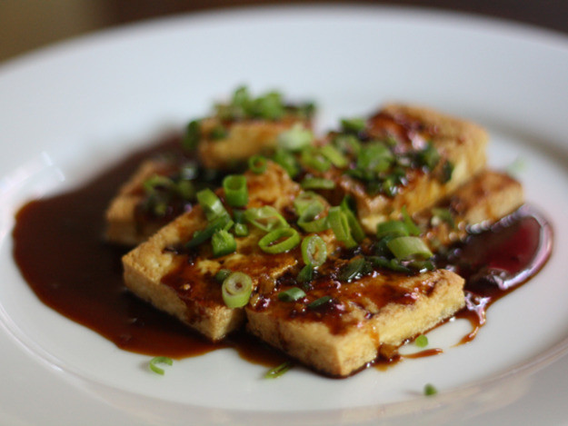 Tofu Sauce Recipes  Dinner Tonight Pan Fried Tofu with Dark Sweet Soy Sauce