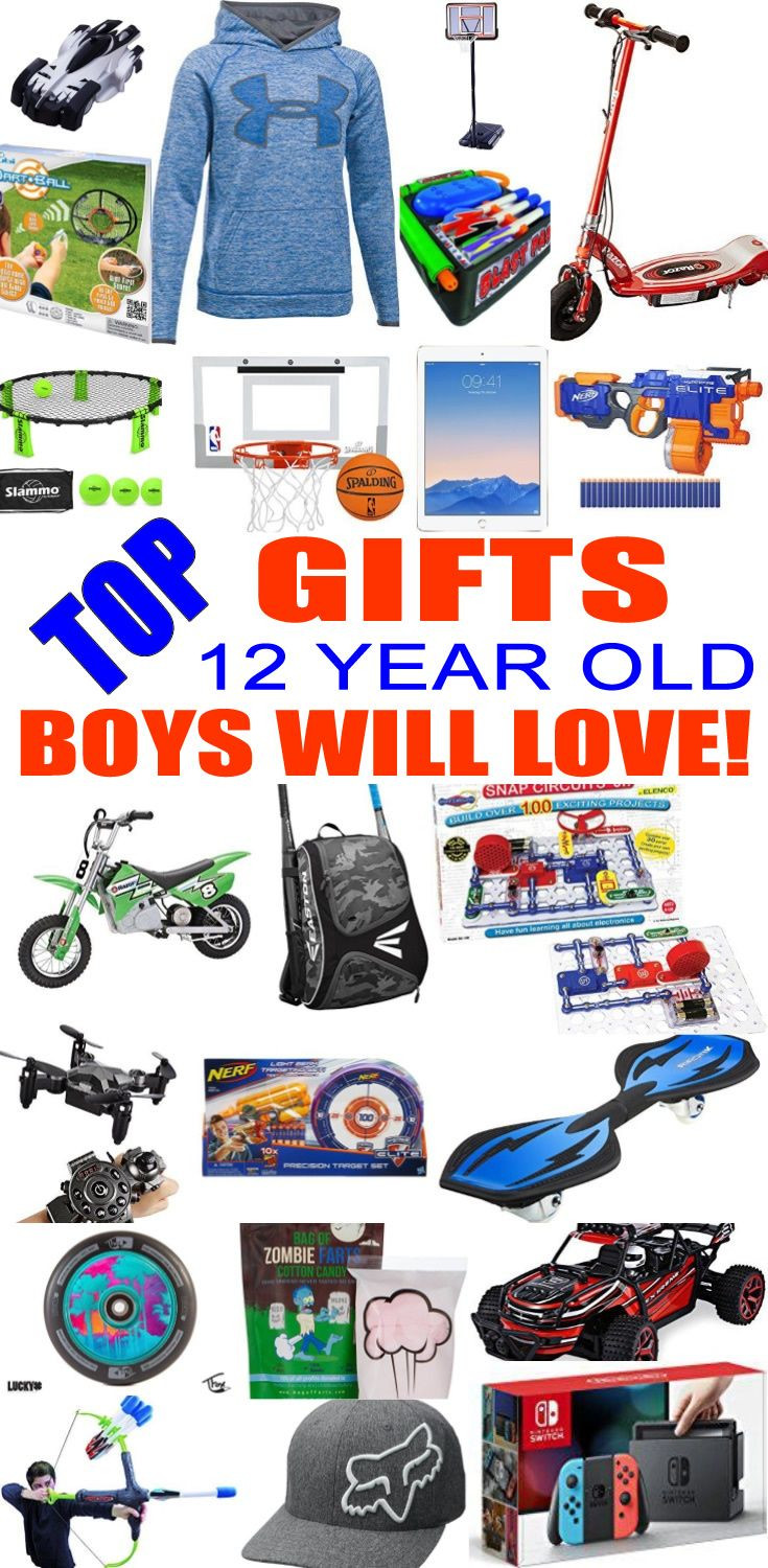 Top Gift Ideas For 12 Year Old Boys  Pin on Top Kids Birthday Party Ideas