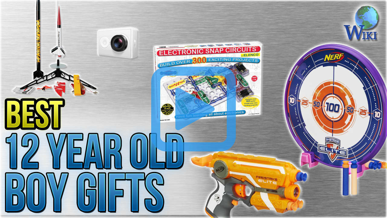 Top Gift Ideas For 12 Year Old Boys  Top 10 12 Year Old Boy Gifts of 2018