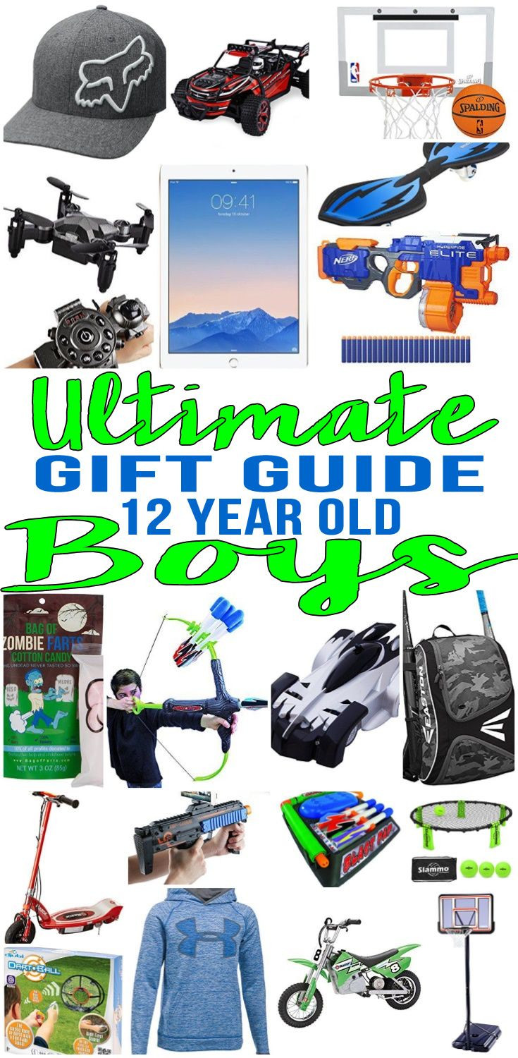 Top Gift Ideas For 12 Year Old Boys  Pin on Gift Guides