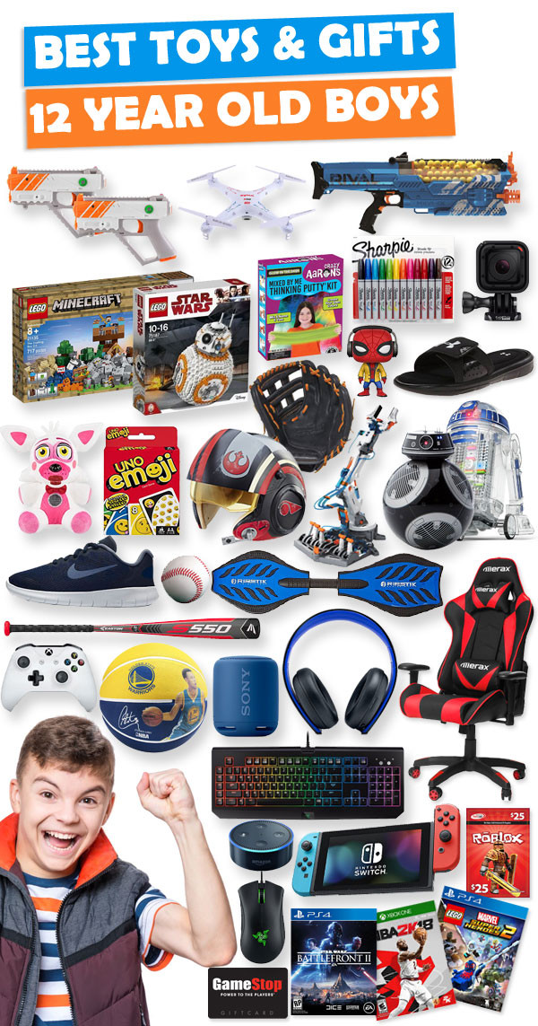 Top Gift Ideas For 12 Year Old Boys  Gifts For 12 Year Old Boys [Gift Ideas for 2020]