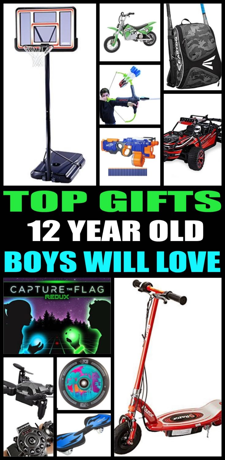 Top Gift Ideas For 12 Year Old Boys  Best Gifts For 12 Year Old Boys