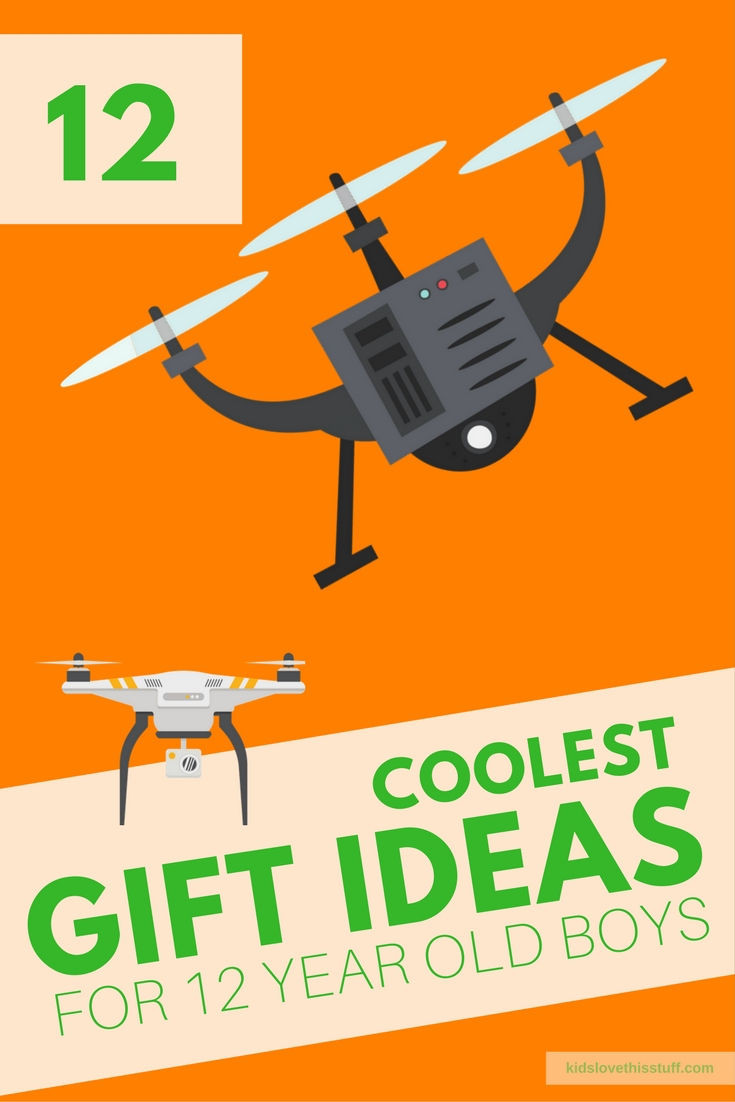 Top Gift Ideas For 12 Year Old Boys  The Coolest Gift Ideas for 12 Year Old Boys in 2017