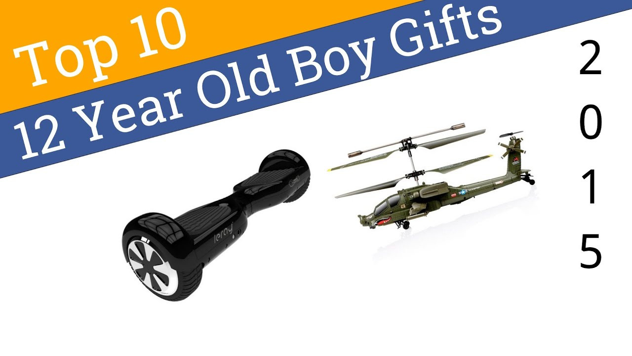 Top Gift Ideas For 12 Year Old Boys  10 Best 12 Year Old Boy Gifts 2015