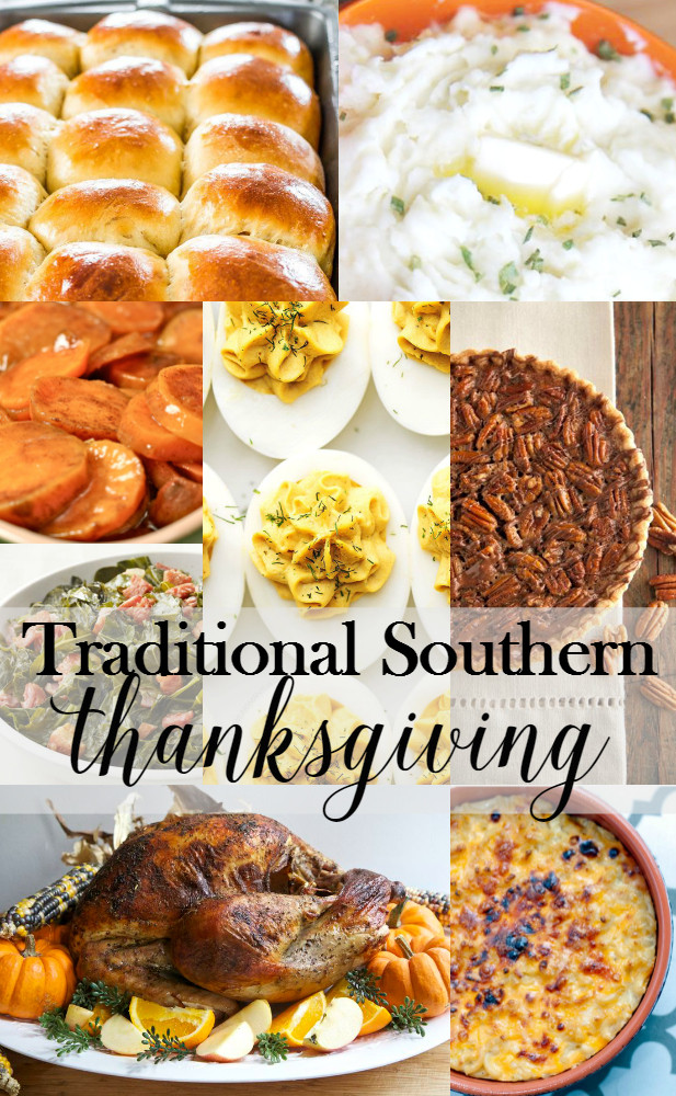 Traditional American Thanksgiving Dinner  Traditional Southern Thanksgiving Menu