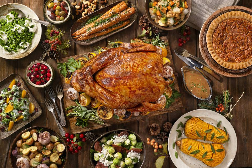 Traditional American Thanksgiving Dinner  Classic Thanksgiving Menu and Recipes