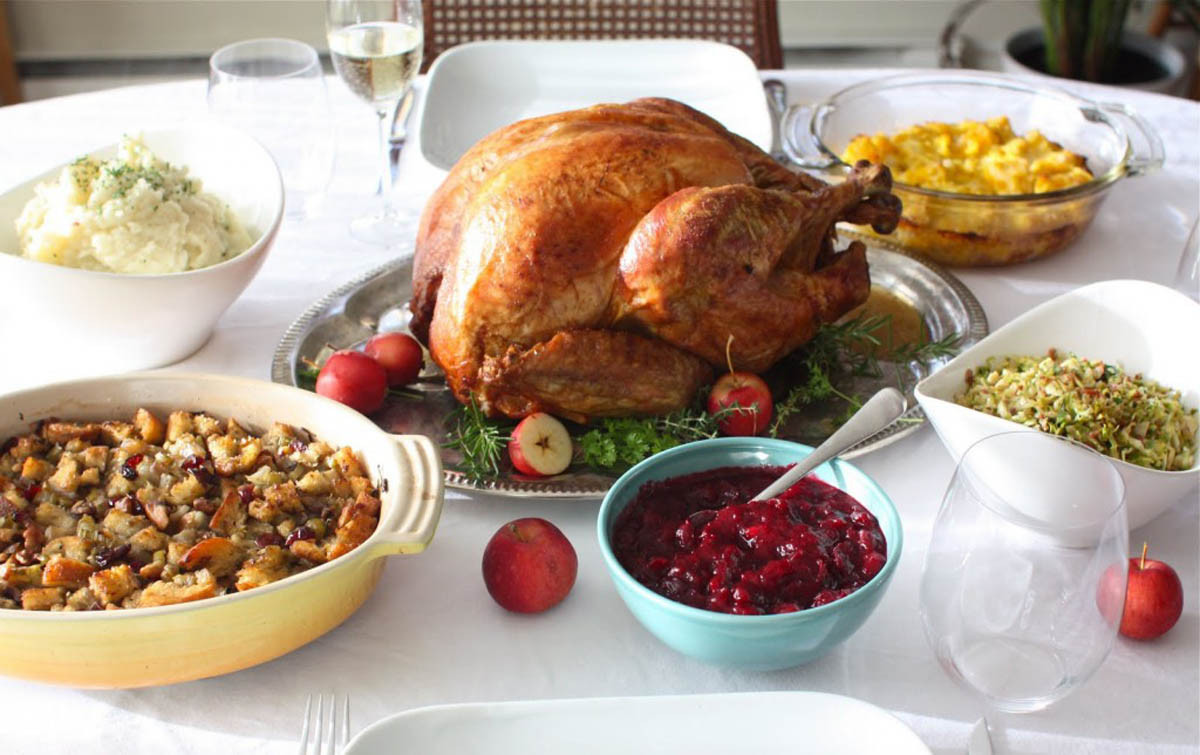 Traditional American Thanksgiving Dinner  Sharing Our Holiday Food Traditions Dishing Up