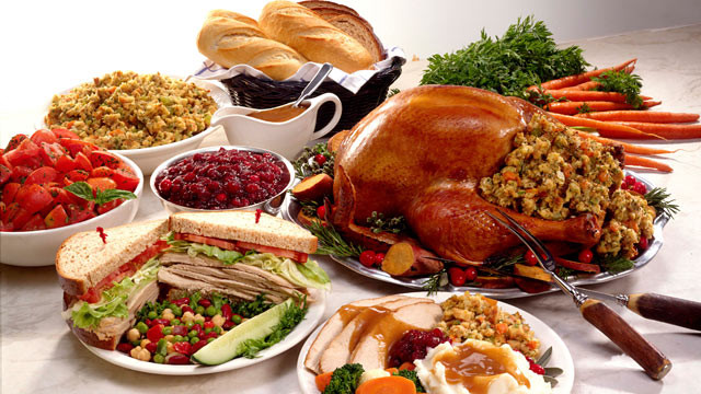 Traditional American Thanksgiving Dinner  Thanksgiving Dinner 2011 Why Diets Fail ABC News
