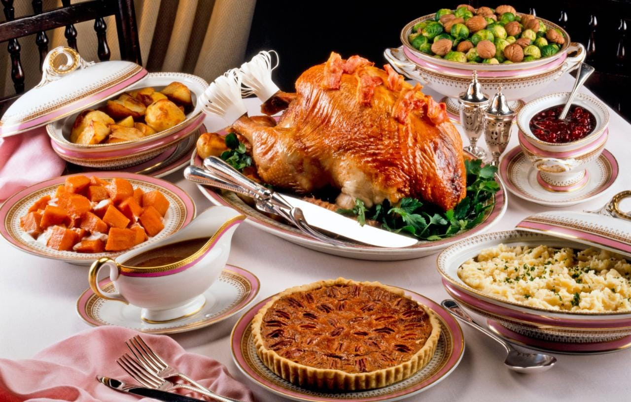 Traditional American Thanksgiving Dinner  Thanksgiving the traditional dinner menu and where to