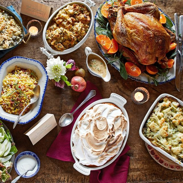 Traditional American Thanksgiving Dinner  30 Best Thanksgiving Menus Thanksgiving Dinner Menu Recipes