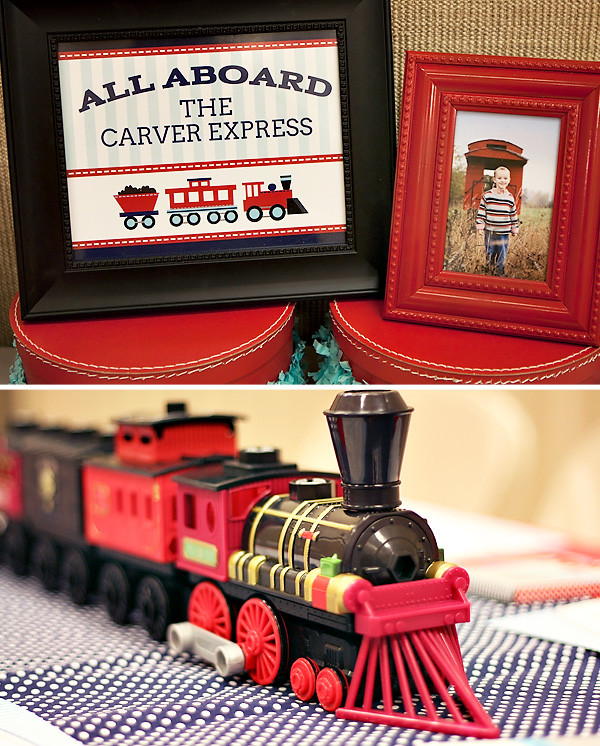 Train Birthday Party Decorations  Adorable train party inspiration DIY party ideas