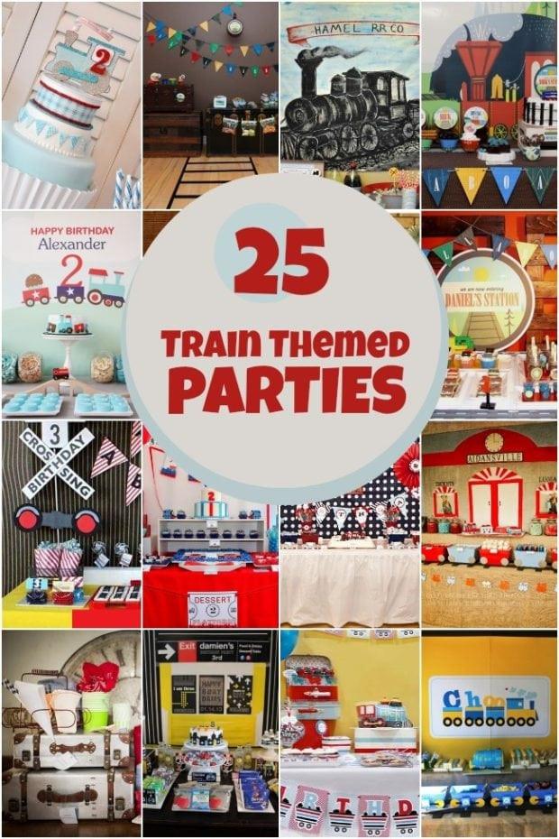 Train Birthday Party Decorations  25 Train Themed Birthday Parties