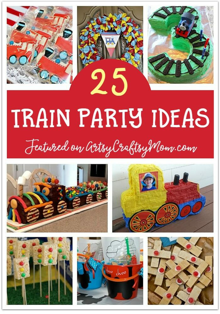 Train Birthday Party Decorations  25 Awesome Train Party Ideas for Kids