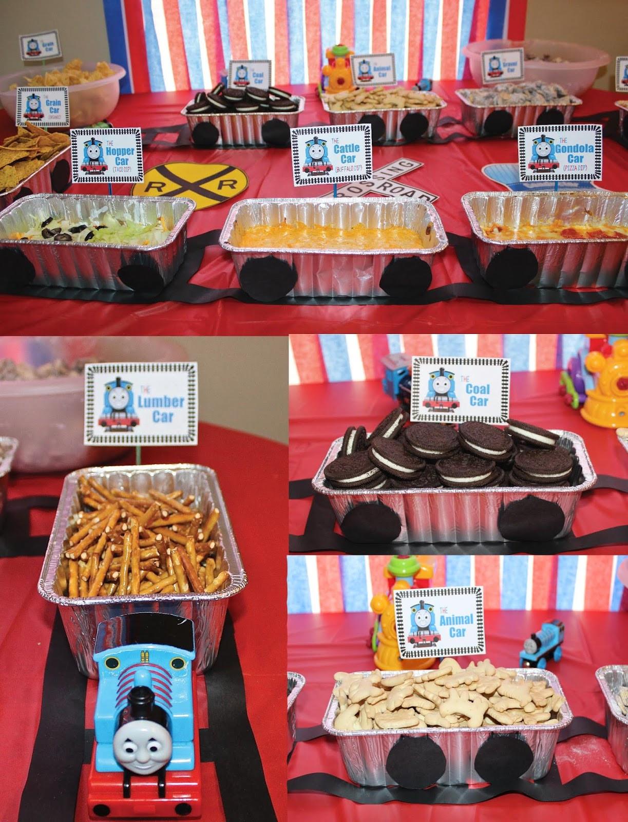 Train Birthday Party Decorations  Thomas the Train Birthday Party Chugga Chugga TWO TWO