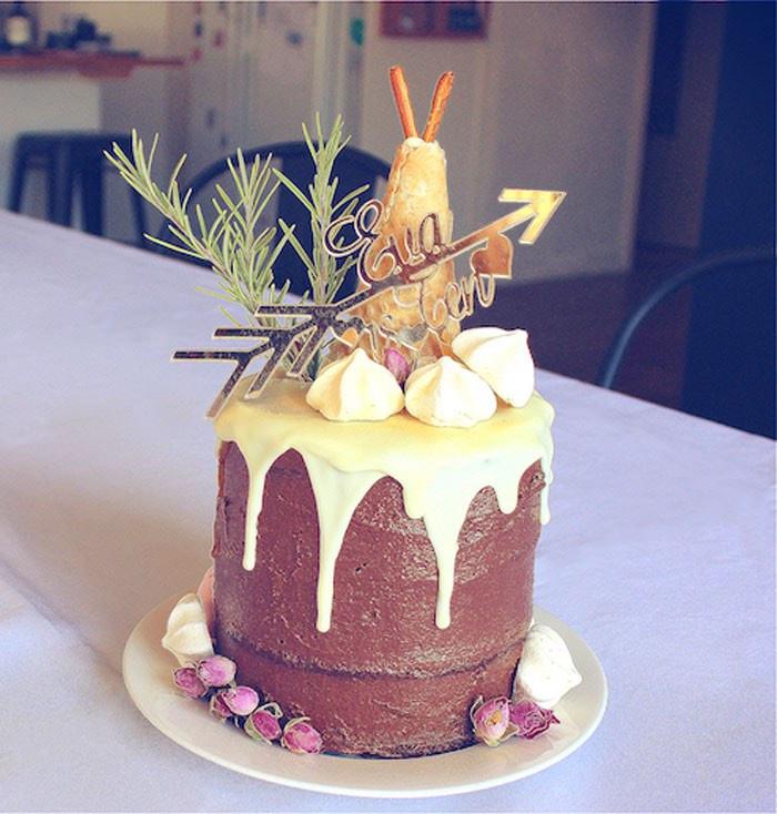 Tween Birthday Cakes  Kara s Party Ideas Bohemian Tween Birthday Party
