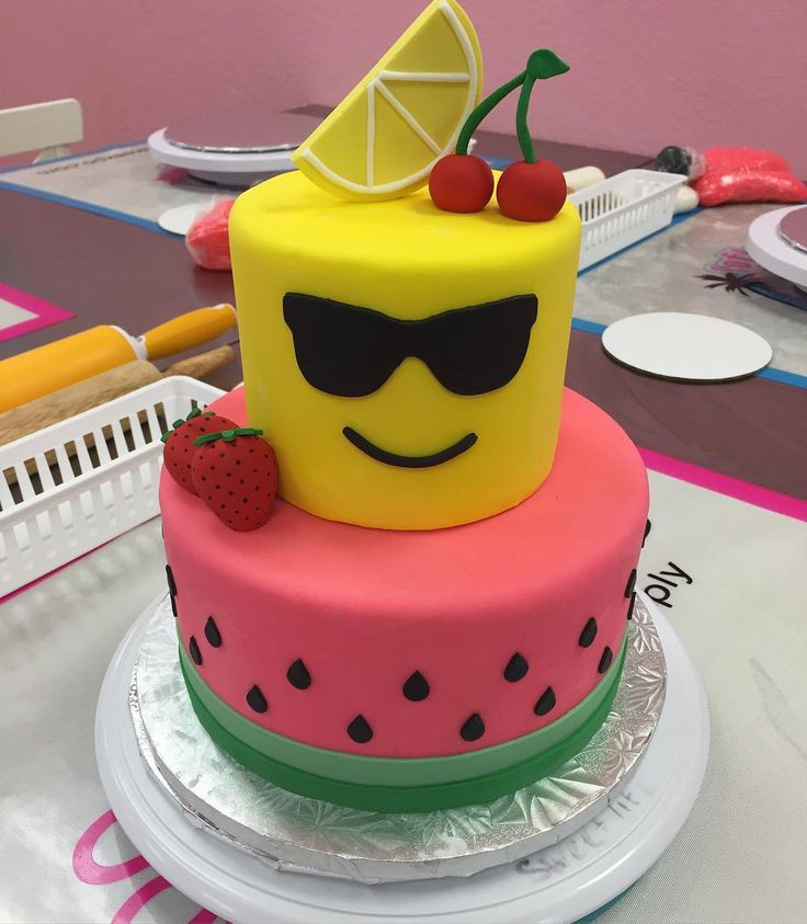 Tween Birthday Cakes  Day 3 Tween Camp Fondant Day So excited to teach all