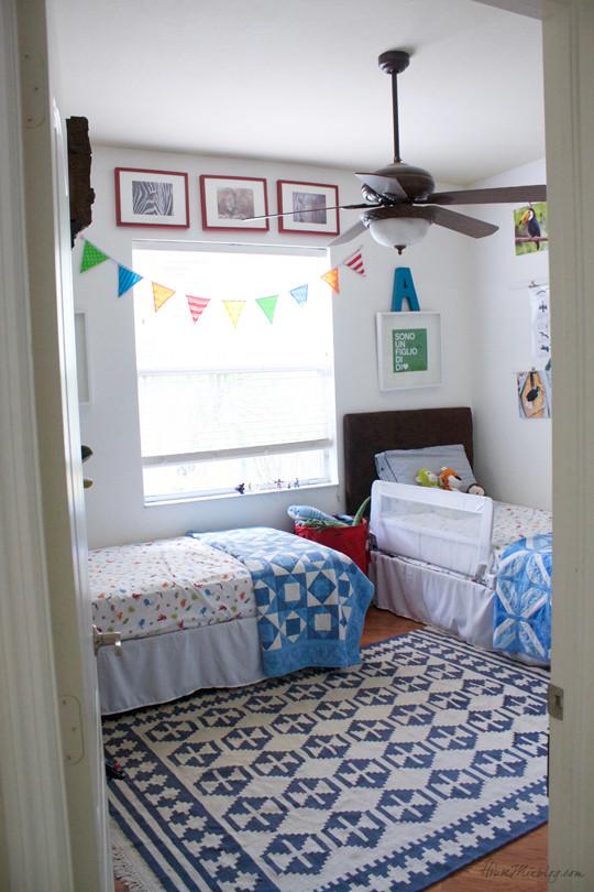 Twin Boys Bedroom  Boys shared bedroom