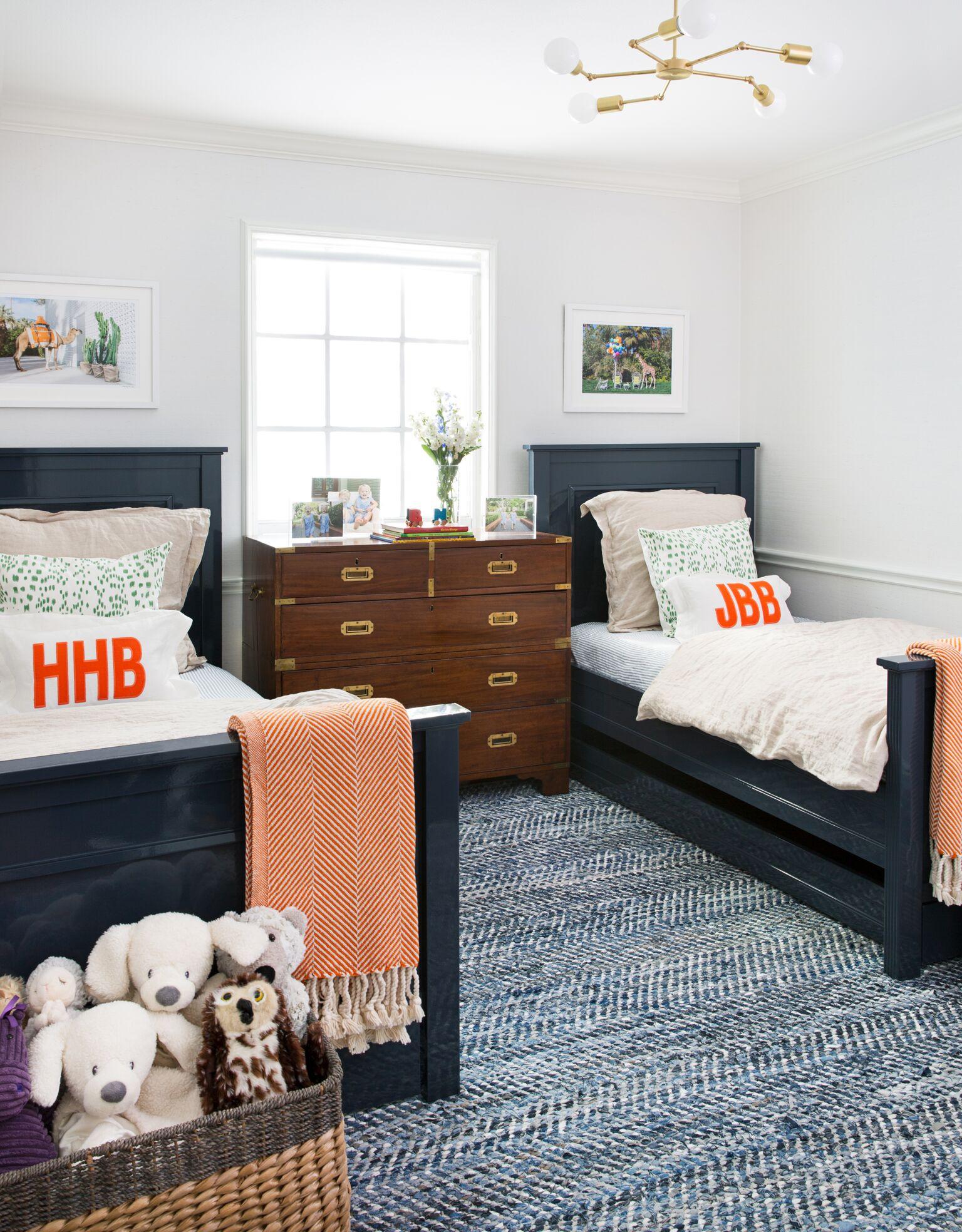 Twin Boys Bedroom  Room Redo