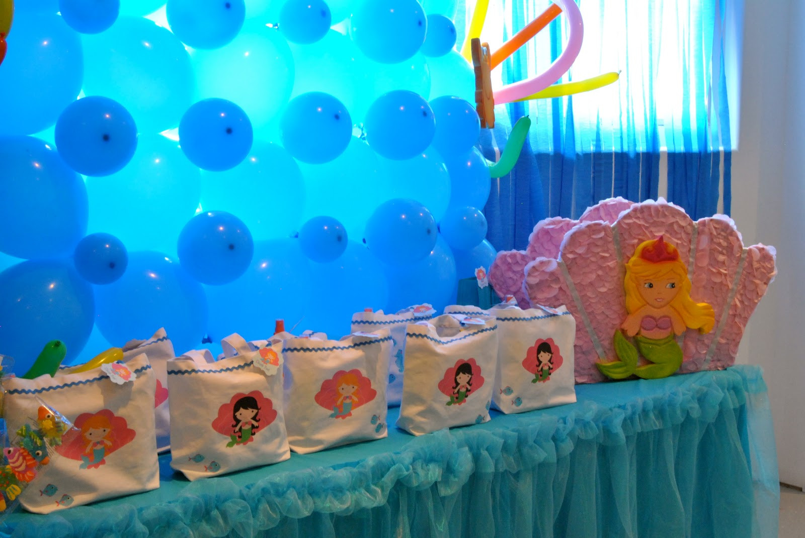 Under The Sea Birthday Decorations  Party Tales Birthday Party Under the Sea Birthday