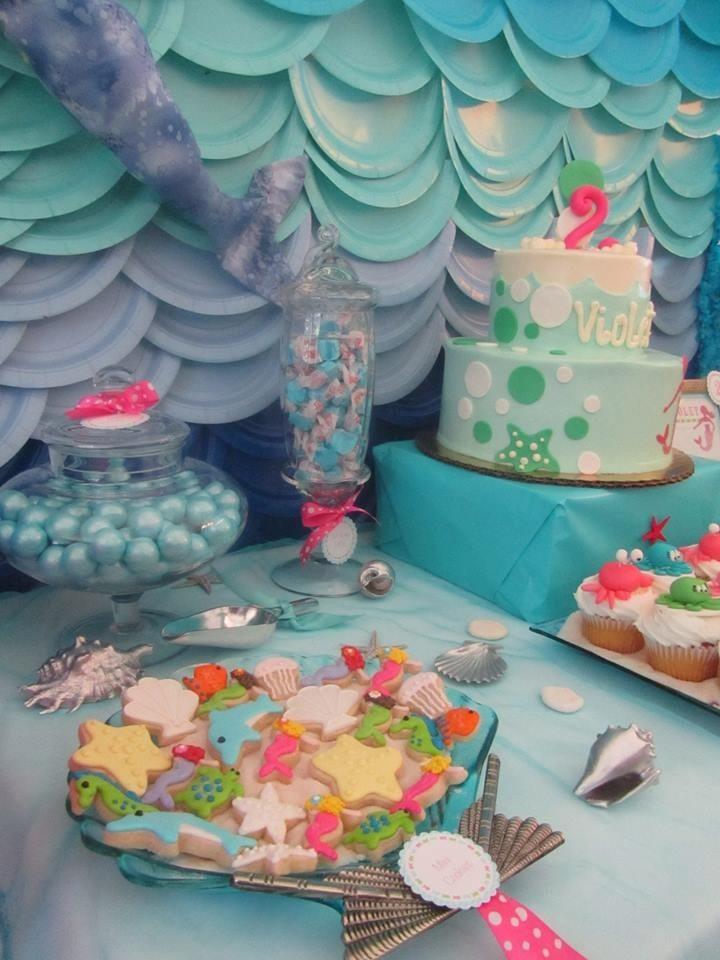 Under The Sea Birthday Decorations  Customer Party Under the Sea 2nd Birthday Party