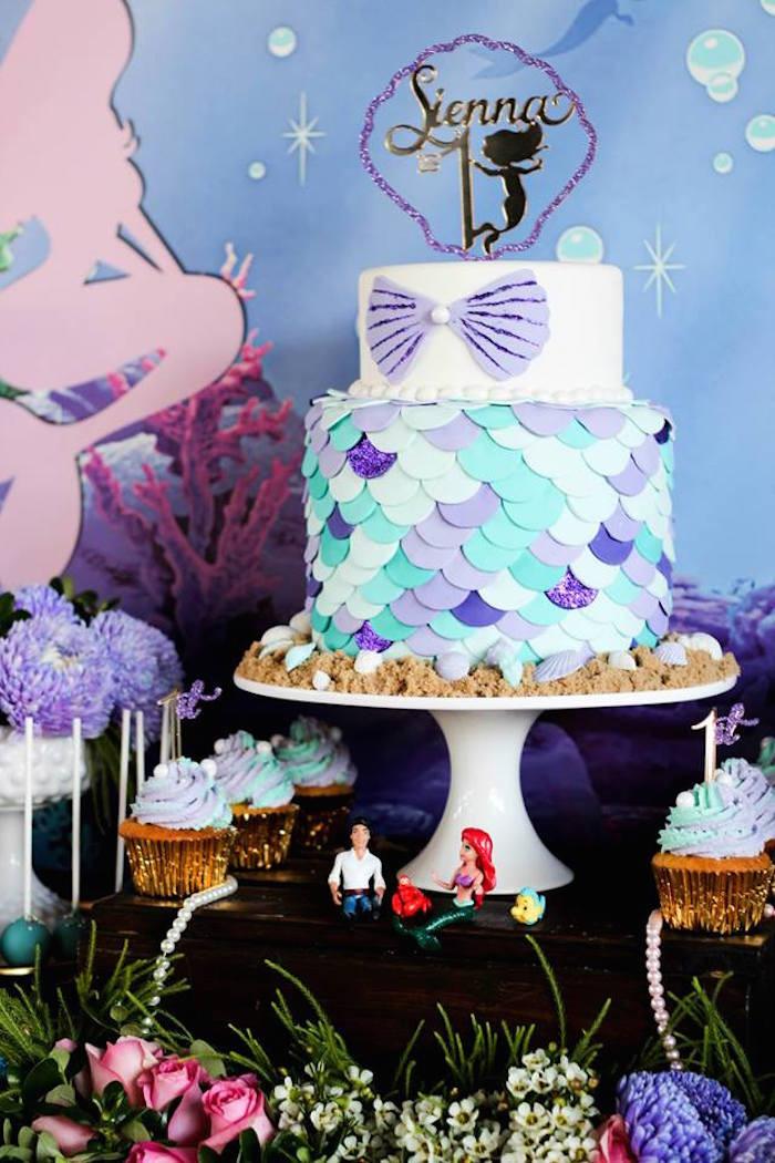 Under The Sea Birthday Decorations  Kara s Party Ideas Under The Sea 1st Birthday Party