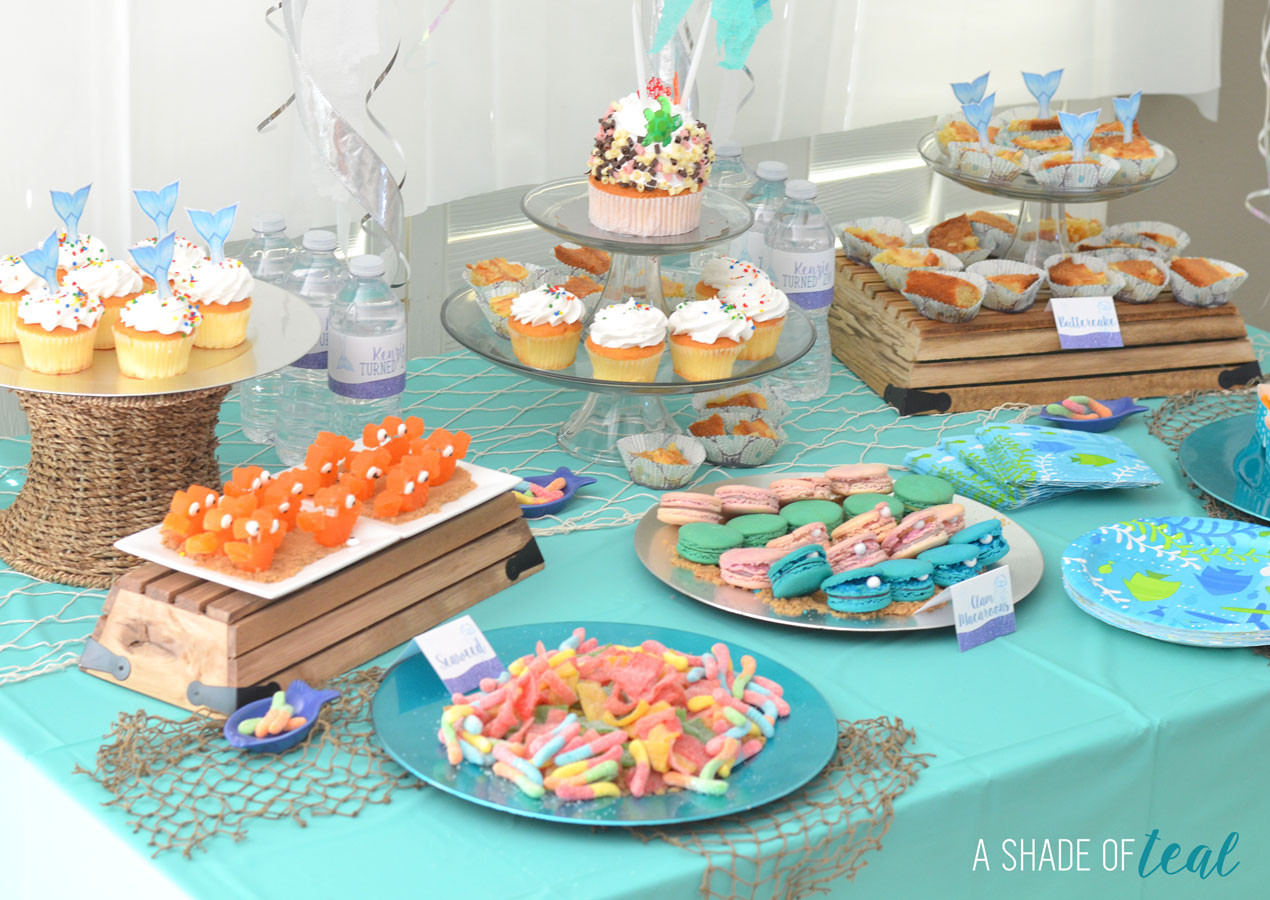 Under The Sea Birthday Decorations  Under the Sea 2nd Birthday Party