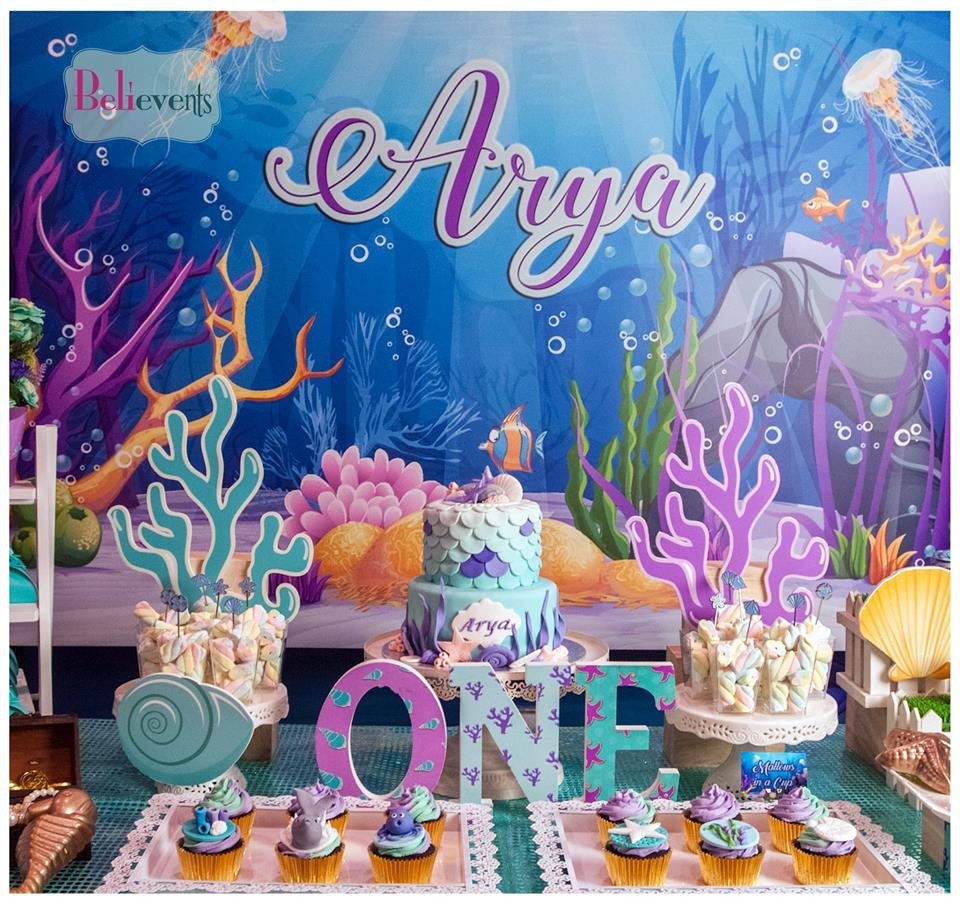 Under The Sea Birthday Decorations  Bubbling Under The Sea Birthday Birthday Party Ideas