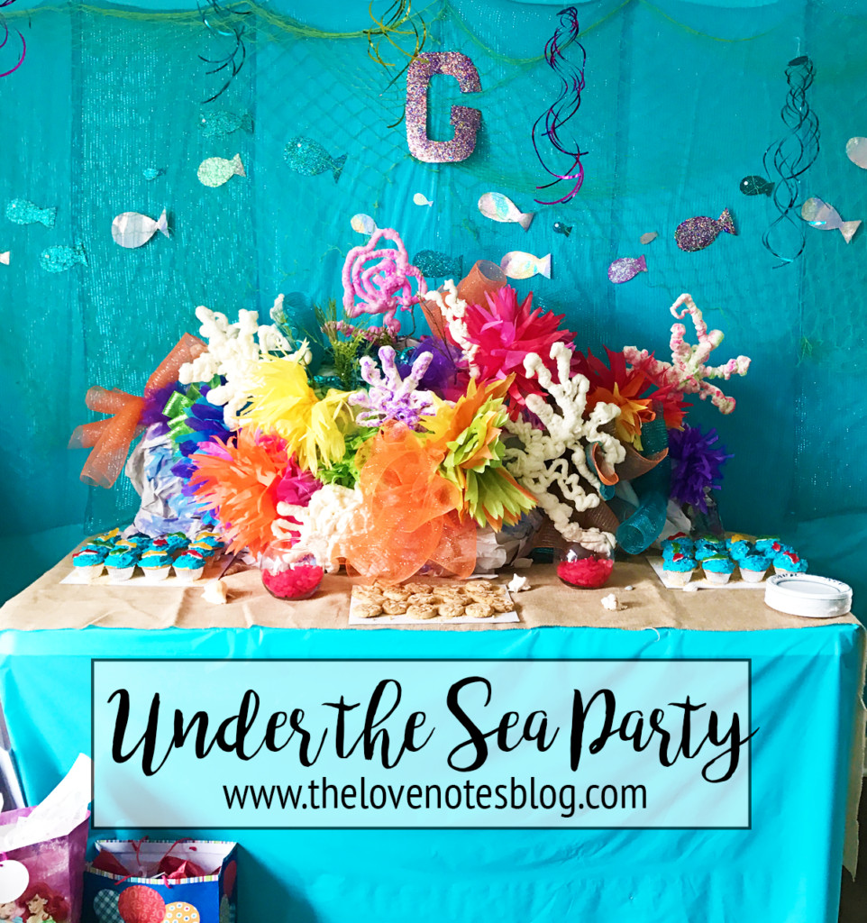 Under The Sea Birthday Decorations  Under the Sea Birthday Party Theme