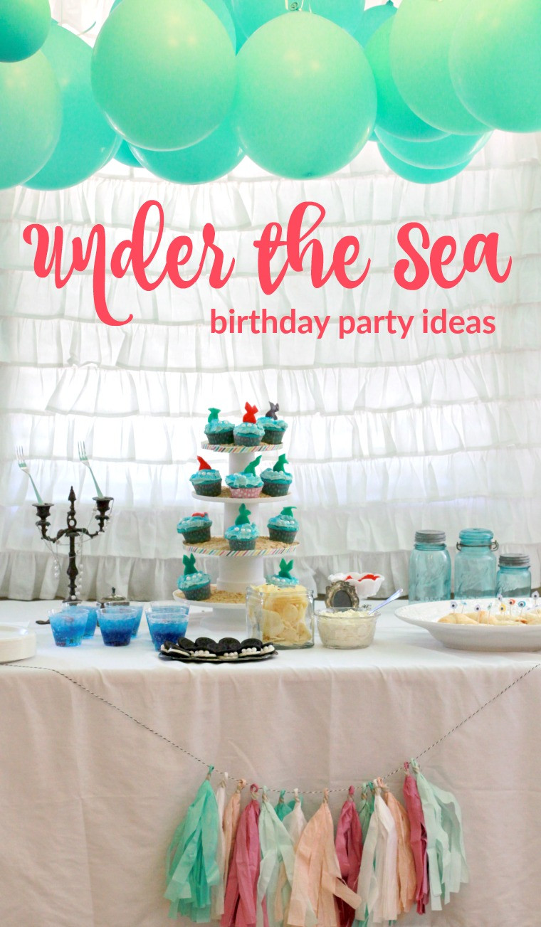 Under The Sea Birthday Decorations  Painted Confetti
