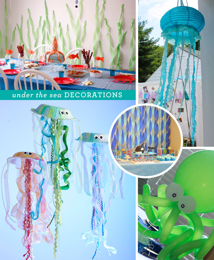 Under The Sea Birthday Decorations  Under the Sea Party Idea