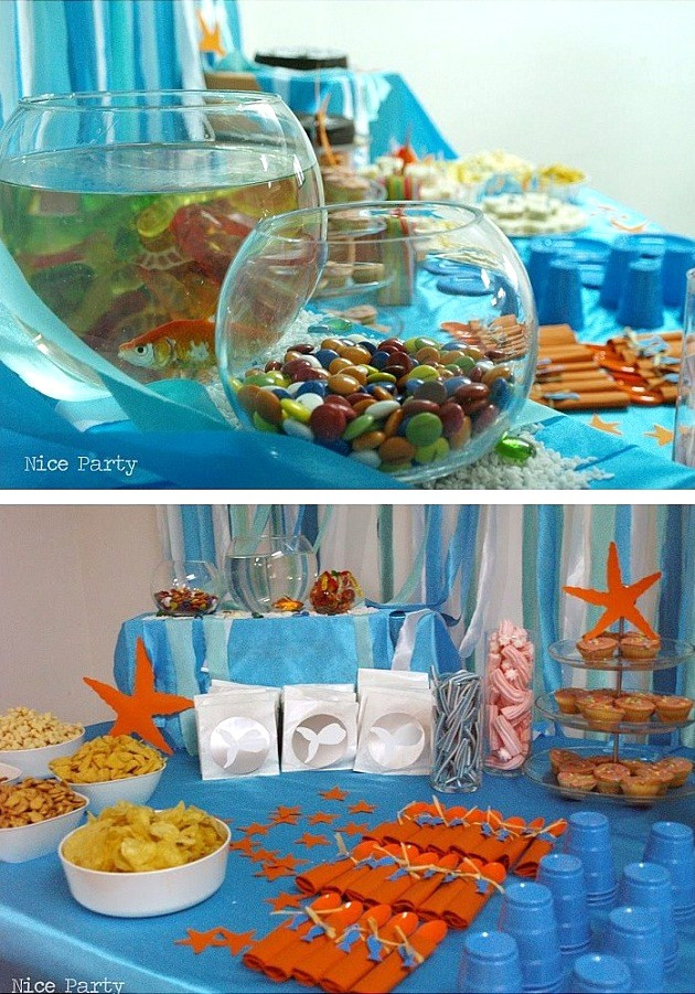 Under The Sea Birthday Decorations  Under The Sea Birthday Party guest feature