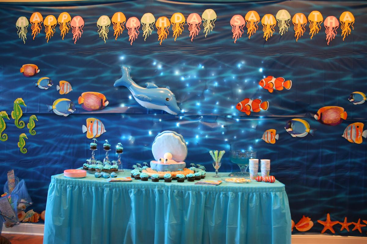 Under The Sea Birthday Decorations  under the sea party decorations