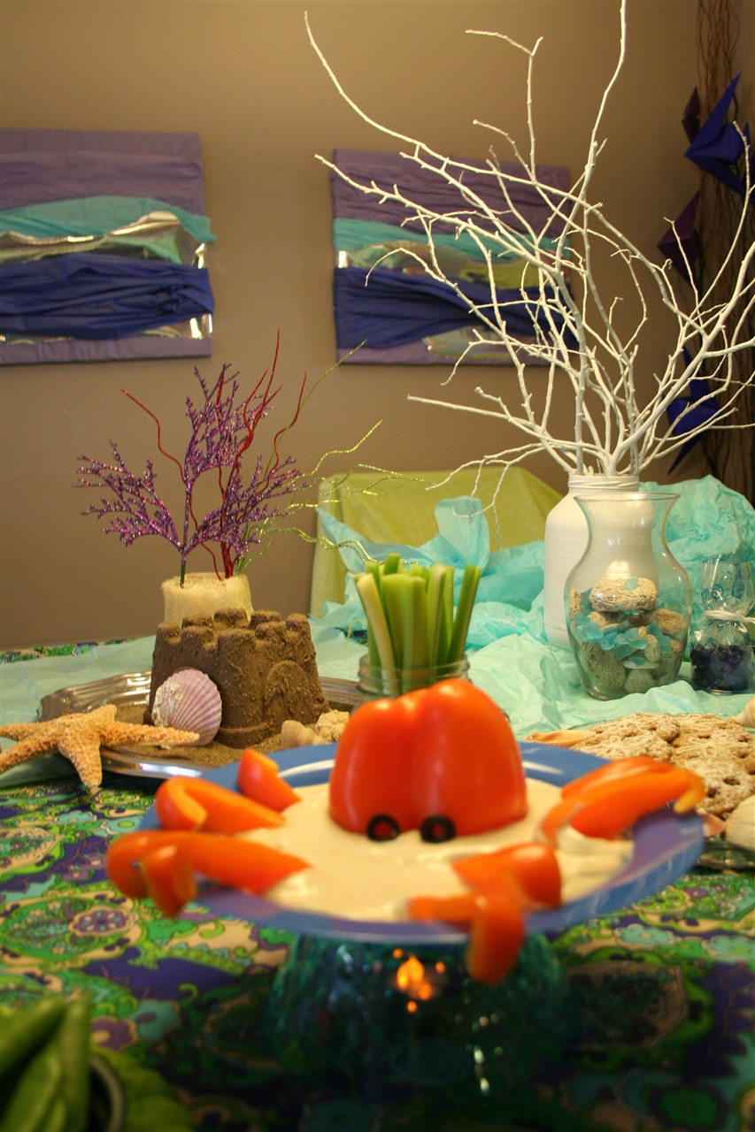 Under The Sea Birthday Decorations  Kids' Under the Sea Party Food